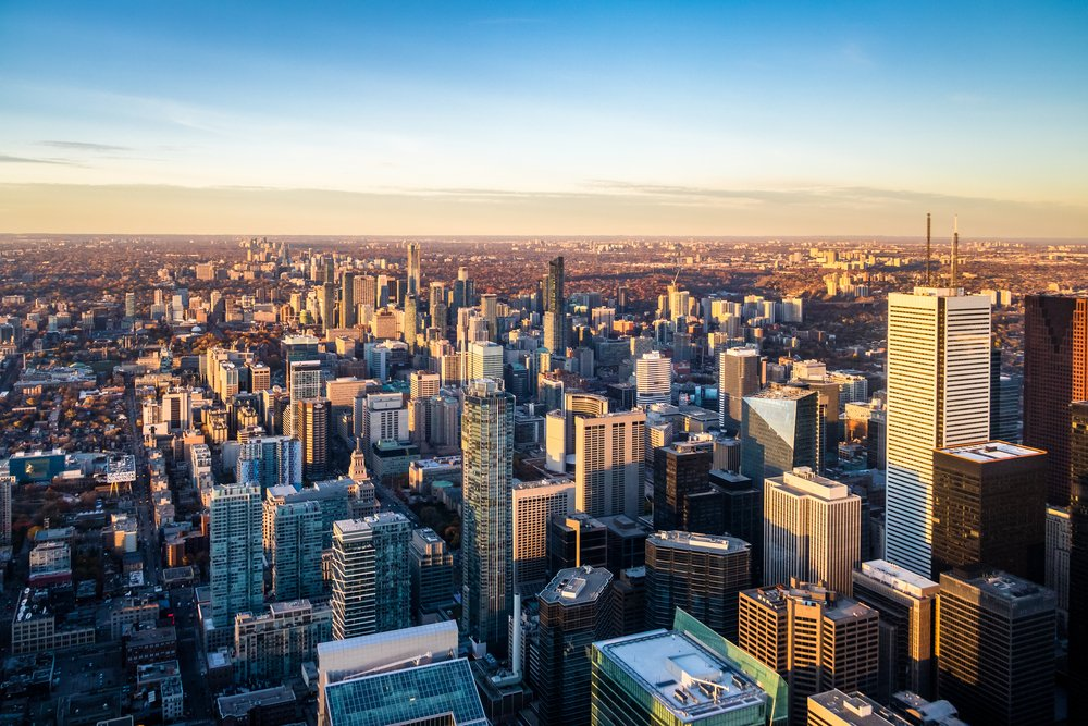 Toronto commercial cleaning services - downtown skyline