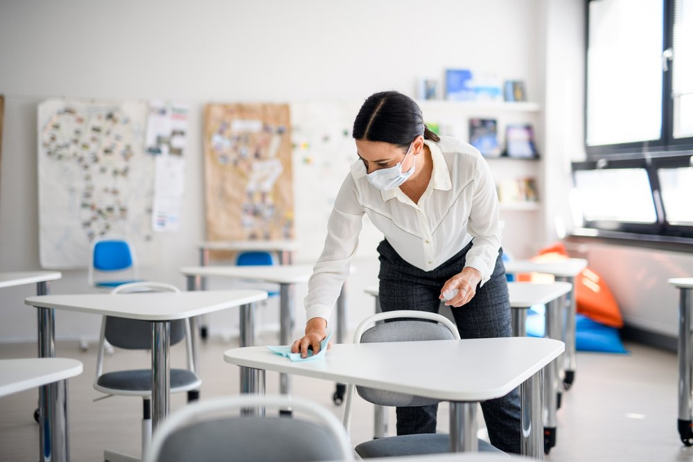 classroom disinfection